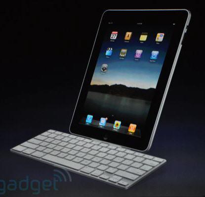 ipad with dock