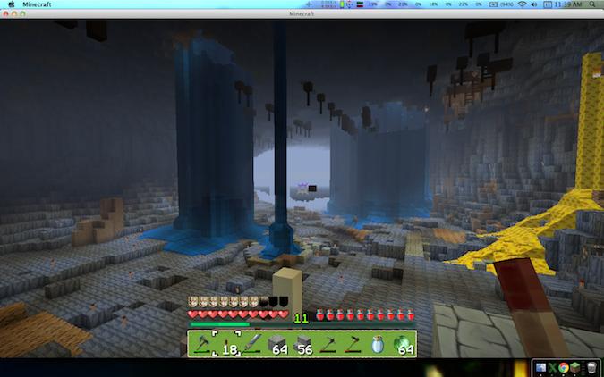 Minecraft Chasm on prophet\